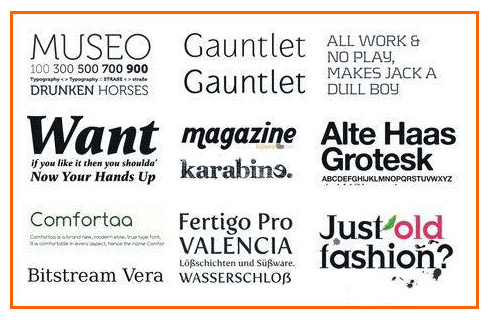 38 High Quality Fonts For Professional Designer - Itechsoul