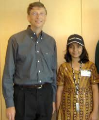 Arfa-Karim-with-Bill-Gates
