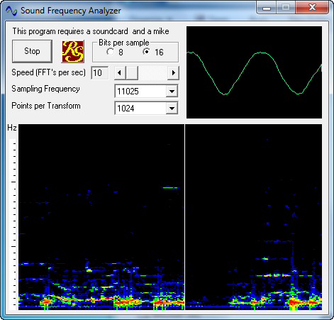 Sound-Frequency-Analyzer