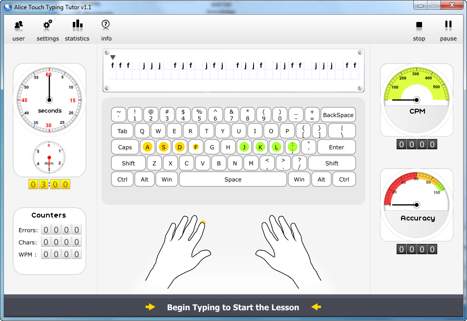 Touch-Typing-Tutor