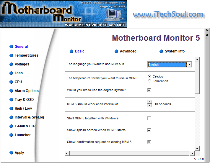 Motherboard-Monitor