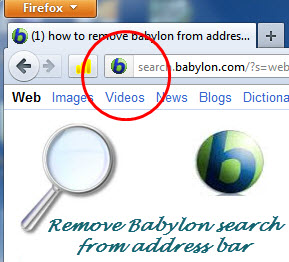 Completely Remove Babylon Search bar From Your Web Browser