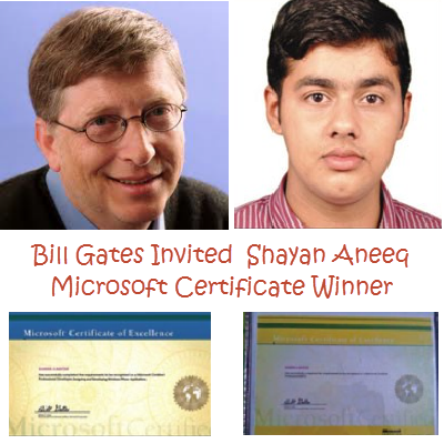 Bill Gates Has Invited The 17 Years Old Brilliant Pakistani Student