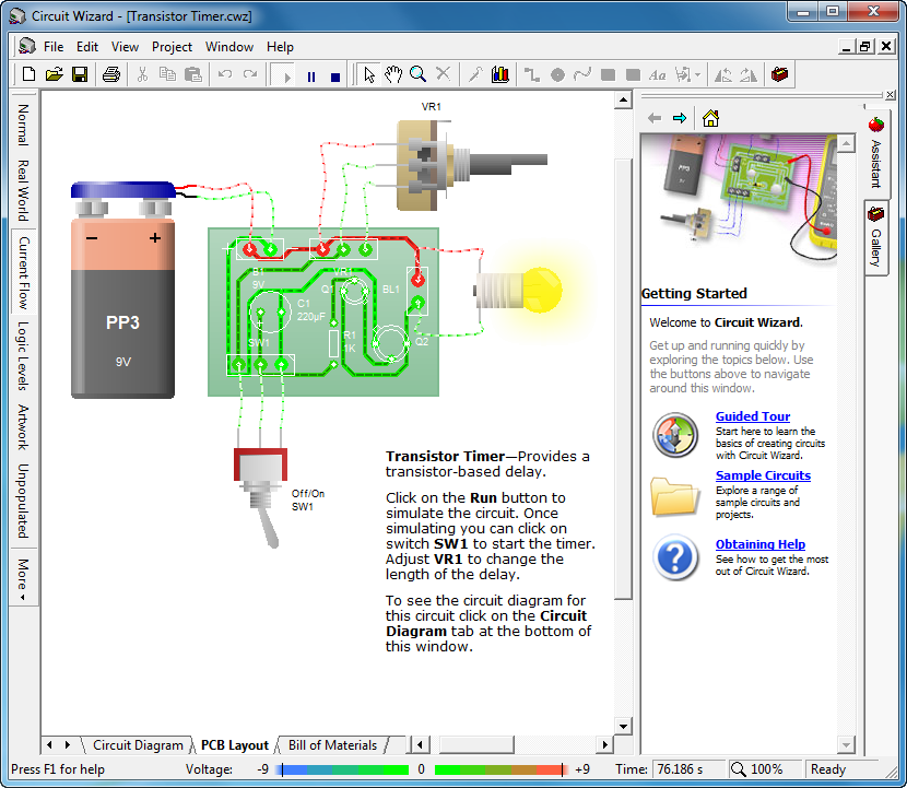 Circuit wizard is a easy program to draw your electronic Easy drawing software