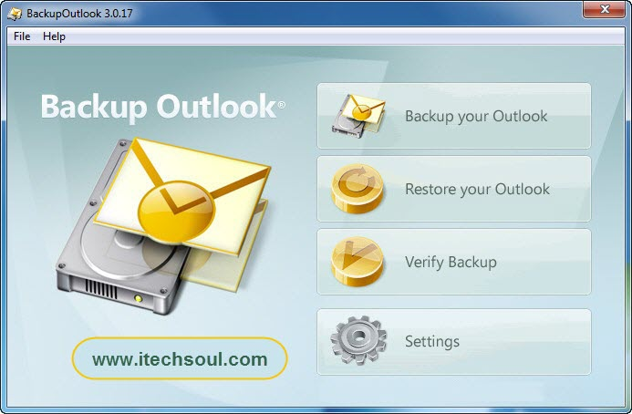 Backup-Outlook