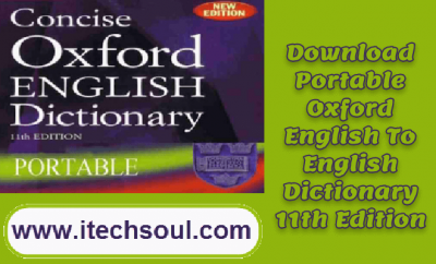 Oxford-Dictionary-11-Edition-Porttable-