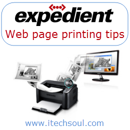 Print Desired Content From The Web Page