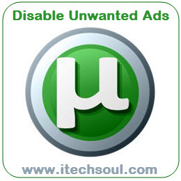 utorrent_disable unwanted ads