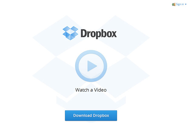 how to download big files from dropbox