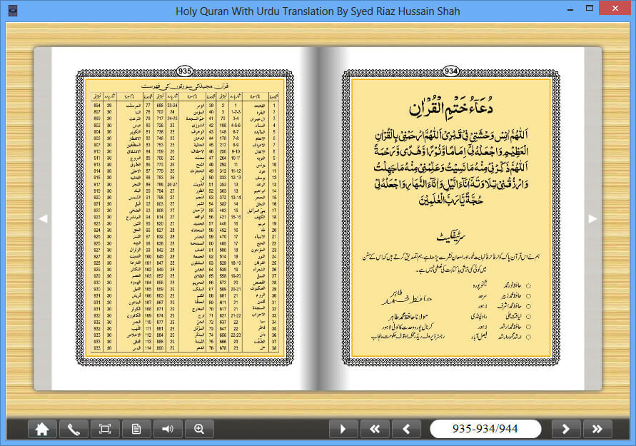Holy Quran With Urdu Translation By Syed Riaz Hussain Shah e