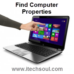 How To Find Computer Properties