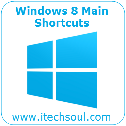 Windows 8 Main Shortcuts