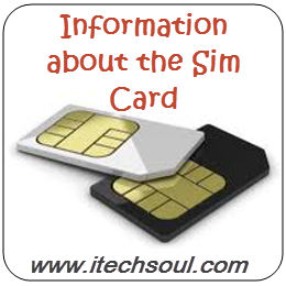 Information about the Sim Card