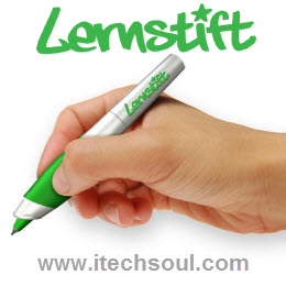 Lernstift vibrates pen