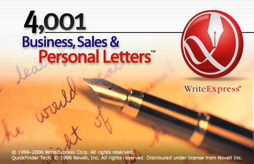 4001 Business Sales & Personal Letters