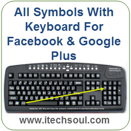 All Symbols With Keyboard For Facebook & Google Plus_1