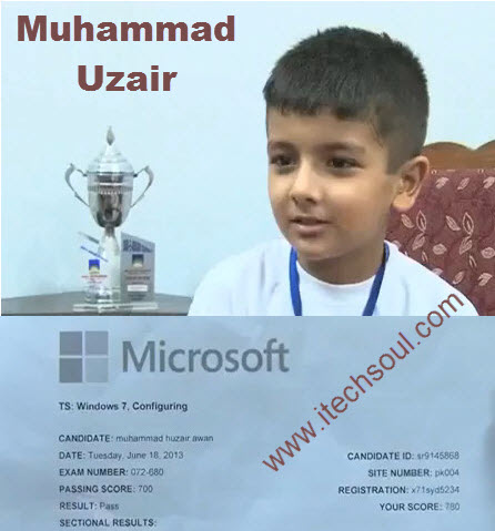 World Youngest Certified Microsoft Professional