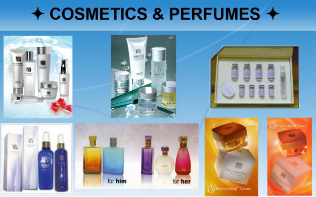 3- Tiens_Cosmetics and Perfumes