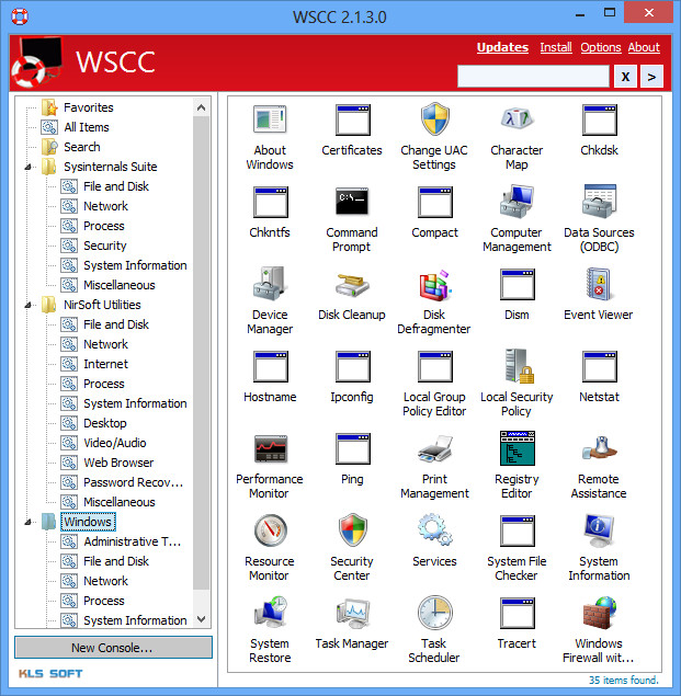 Update Your Supported System Utilities Automatically By Using WSCC Program