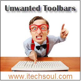 Unwanted ToolBars