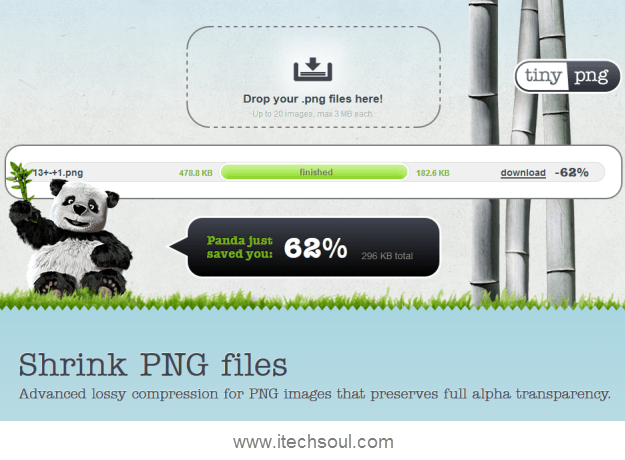 Brilliant Online Tool Can Shrink PNG Files Up To 70% Without Losing Its Transparency
