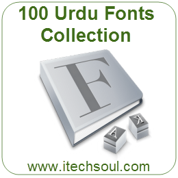 100 Urdu Fonts Collection