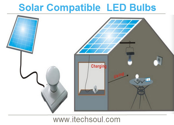 Solar Compatible  LED Bulbs