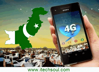 4G technology in Pakistan