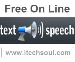 Free on line text to speech service