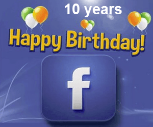 10 years of Facebook