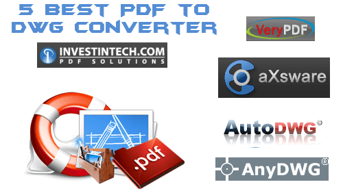 5 Best PDF to DWG Converter