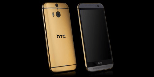 Gold HTC ONE (M8)