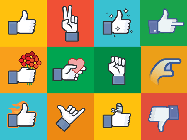 Brand New Facebook Chat Stickers
