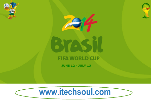 Download Free Football World Cup Brazil 2014