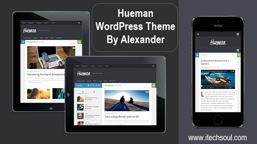 Hueman WordPress Theme By Alexander
