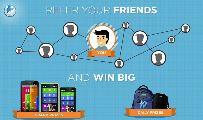 Giveaway For India Only, Refer Your Friends And Win BIG Prizes From Mobogenie