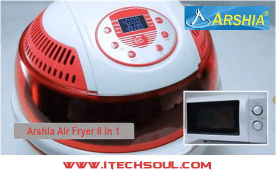 Arshia Air Fryer 8 in 1