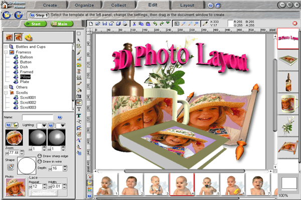 3d photo editor software free download