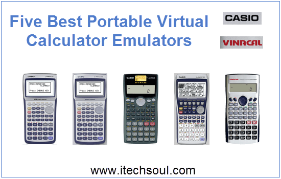 Five Best Portable Virtual Calculator