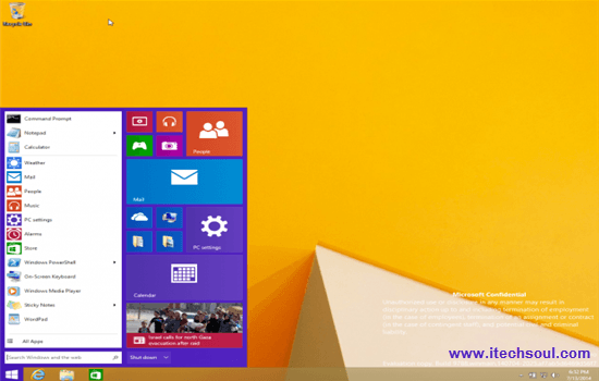 Microsoft  Windows 9 Preview