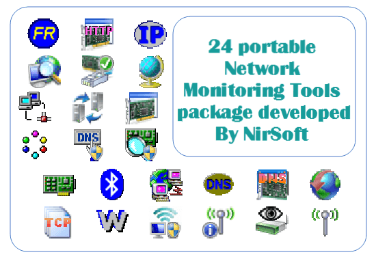 Portable Network Monitoring Tools