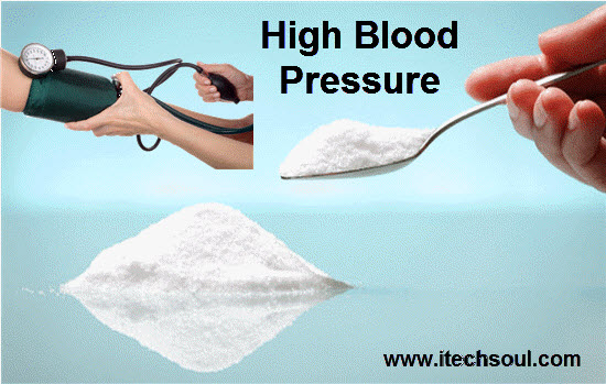 Sugar causes high blood pressure than salt