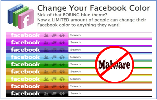 Beware Of Facebook Color Changer