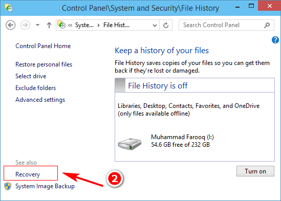 how to make windows backup