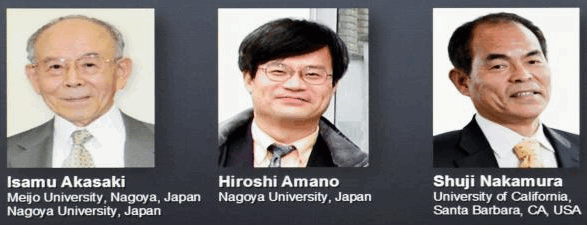 three physics prize winners for 2014