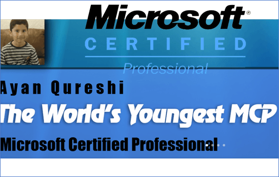 Ayan Qureshi_Five year old_IT specialist
