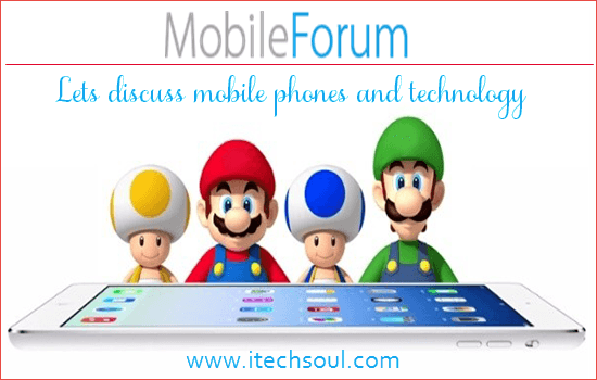 Lets discuss mobile phones and technology