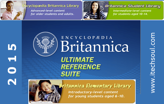 Encyclopedia Britannica Ultimate Reference Suite 2015
