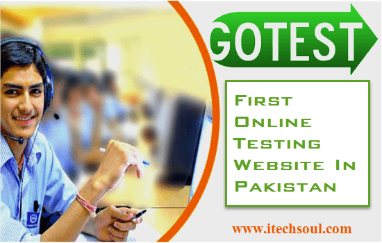 First Online Testing Website In Pakistan