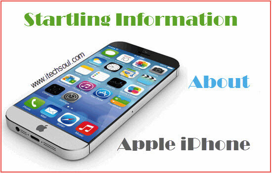 Startling Information about Apple iPhone